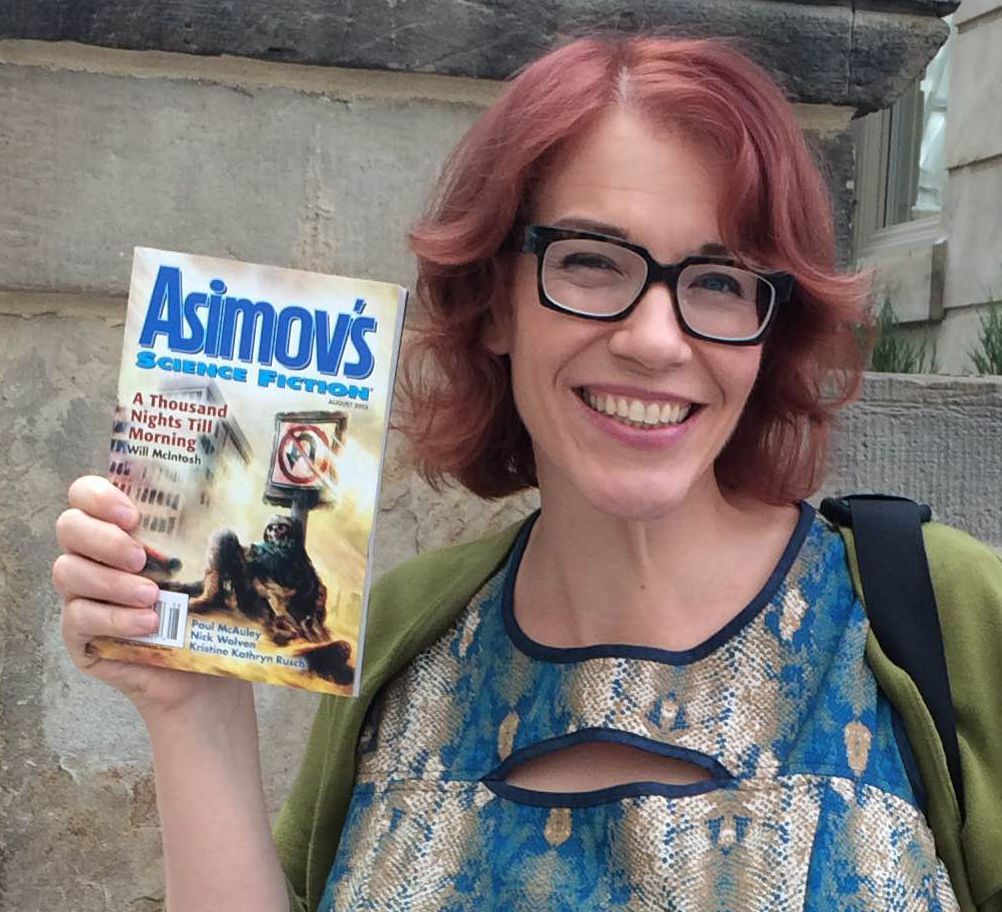 Me and my first Asimov's!