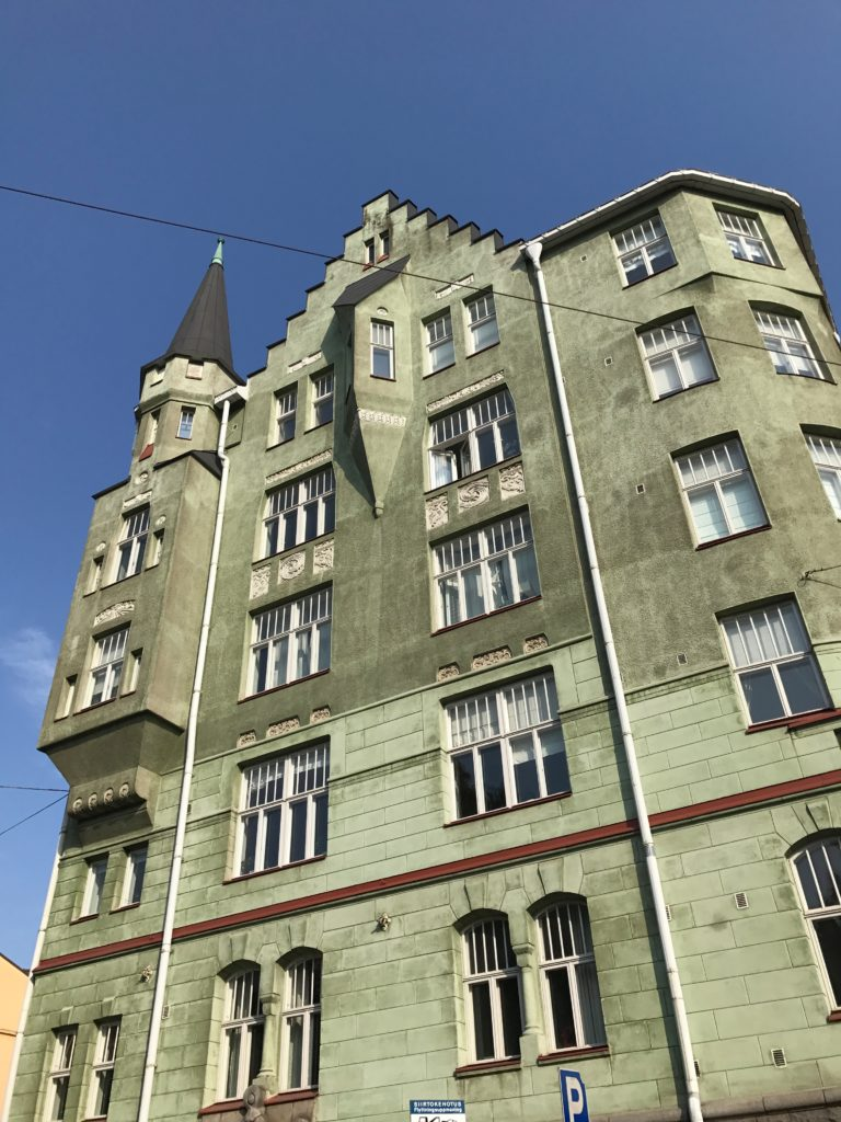 We stayed in the Katajanokka neighborhood, which is filled with amazing Beaux Arts apartment buildings.