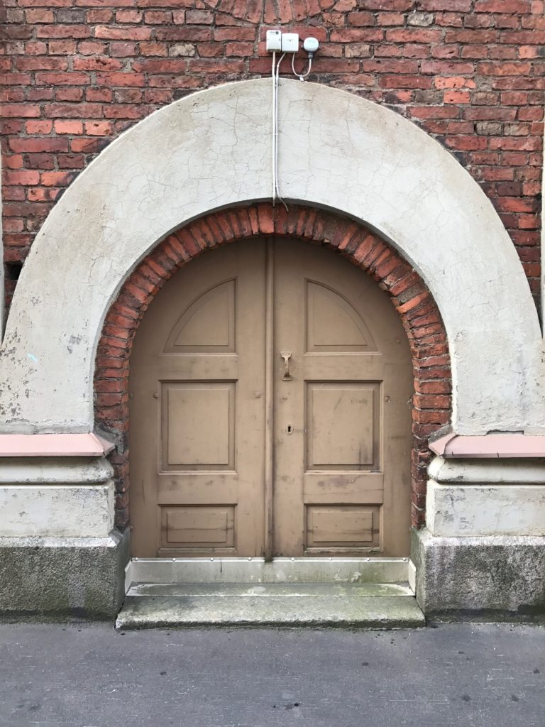 Helsinki has amazing doorways!